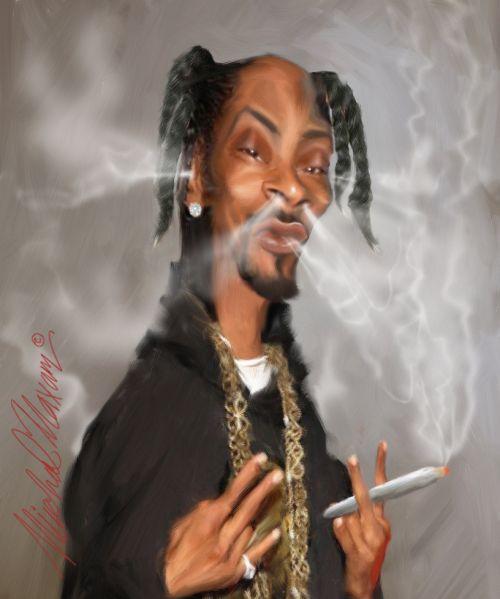 Snoop Dogg Caricature best